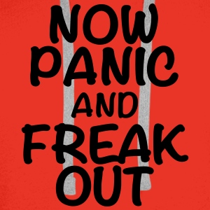 Now panic and freak out T-shirts - Herre Premium hættetrøje