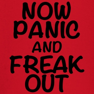 Now panic and freak out T-shirts - Langærmet babyshirt