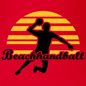 Beachhandball T-Shirts - Baby Bio-Kurzarm-Body