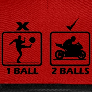 Motorcycle require 2 balls T-Shirts - Snapback Cap
