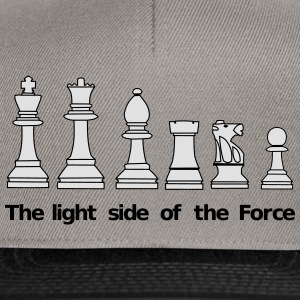 The Light Side of the Force Magliette - Snapback Cap