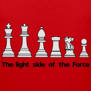The Light Side of the Force Camisetas - Tank top premium hombre