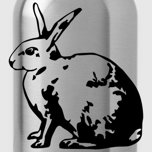 Hase 1 (1 col.) T-Shirts - Water Bottle
