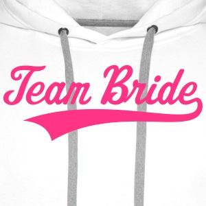 Team Bride T-Shirts - Men's Premium Hoodie