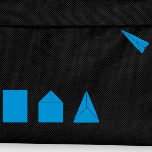 Classic Paper Airplane T-Shirts - Kids' Backpack