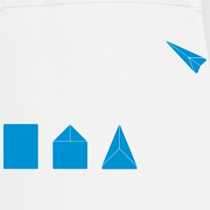 Classic Paper Airplane T-Shirts - Cooking Apron