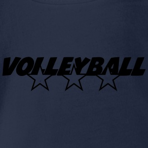 Volleyball Tee shirts - Body bébé bio manches courtes