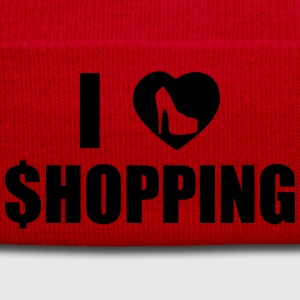 I Love Shopping T-Shirts - Winter Hat
