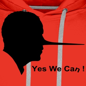 Yes we can Camisetas - Sudadera con capucha premium para hombre