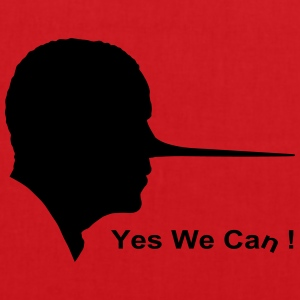 Yes we can T-shirts - Tygväska