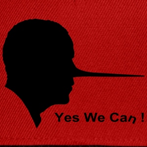 Yes we can Magliette - Snapback Cap