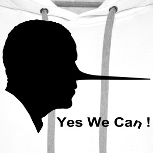 Yes we can T-shirts - Premiumluvtröja herr