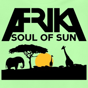 Afrika soul of sun - sunrise - Baby T-Shirt