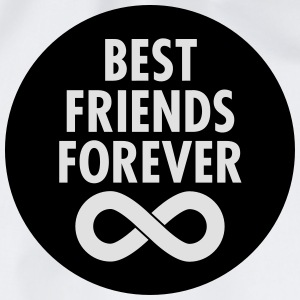 Best Friends Forever (Infinity Symbol) T-Shirts - Drawstring Bag