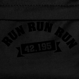 Run Run Run 42,195 (Marathon) T-skjorter - Ryggsekk for barn