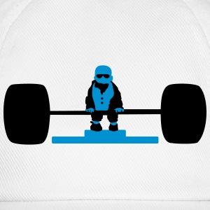 Bodybuilder-Baby / weight lifting baby (2c) T-Shirts - Baseball Cap