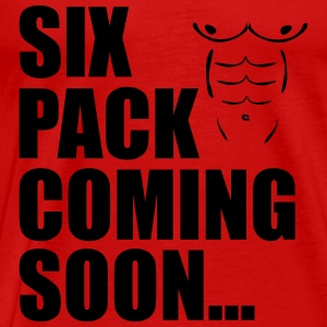 Six Pack Coming Soon Tank Tops - Männer Premium T-Shirt