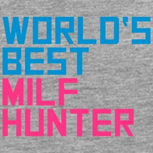 Worlds Best Milf Hunter Camisetas - Camiseta de manga larga premium hombre
