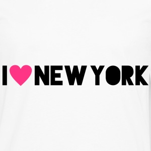 I Love New York Tee shirts - T-shirt manches longues Premium Homme