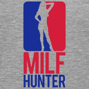 Milf Hunter Sports Logo Design Camisetas - Camiseta de manga larga premium hombre