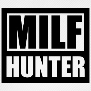 Cool Logo Design Milf Hunter Magliette - Cappello con visiera