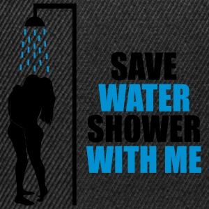 Save water T-skjorter - Snapback-caps