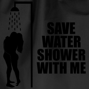 Save water shower with me Sportsklær - Gymbag