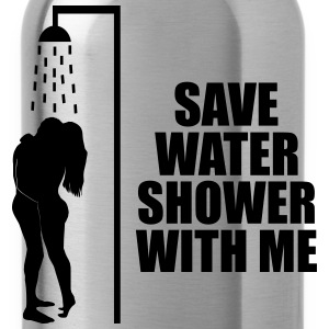 Save water shower with me Sportsklær - Drikkeflaske