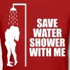 Save water shower with me T-Shirts - Women's Organic T-shirt