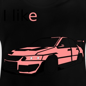 I Like Cars Long Sleeve Shirts - Baby T-Shirt