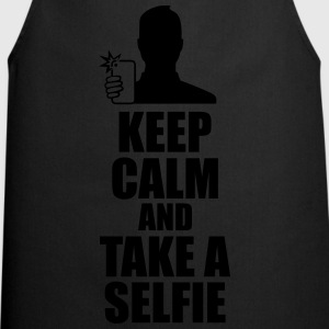 Keep Calm And Take a Selfie  T-skjorter - Kokkeforkle