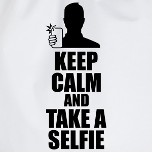 Keep Calm And Take a Selfie  T-skjorter - Gymbag