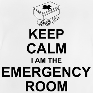 keep_calm_i_am_the_emergency_room_g1 Camisetas - Camiseta bebé