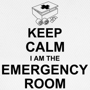 keep_calm_i_am_the_emergency_room_g1 Magliette - Cappello con visiera