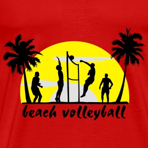 beach volleyball Tops - Männer Premium T-Shirt