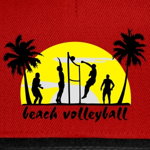 beach volleyball Tops - Snapback Cap