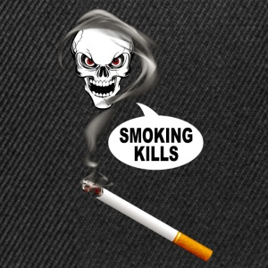 smoking kills 02 Tee shirts - Casquette snapback