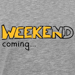 Weekend Longsleeve Shirt - Men's Premium T-Shirt