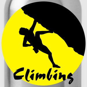 Climber, Climbing T-Shirts - Water Bottle