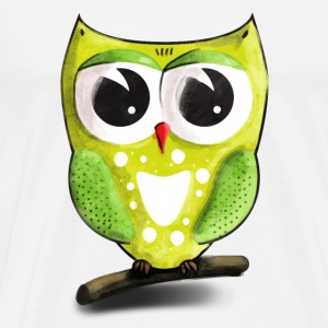 owl / bird / uil / hibou Soft Toys - Men's Premium T-Shirt
