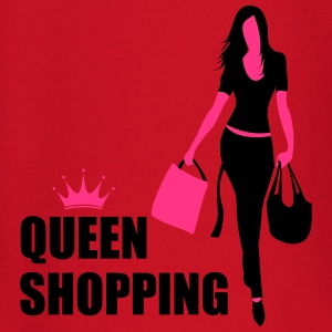 Queen Shopping Crown T-skjorter - Langarmet baby-T-skjorte