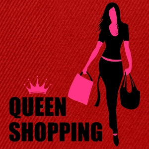 Queen Shopping Crown Camisetas - Gorra Snapback