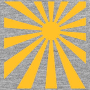 Sun rays rectangle design T-Shirts - Men's Premium Longsleeve Shirt