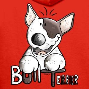 Funny Bull Terrier - Dog - Dogs Shirts - Men's Premium Hoodie