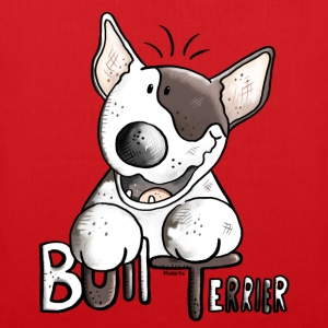 Funny Bull Terrier - Dog - Dogs Shirts - Tote Bag