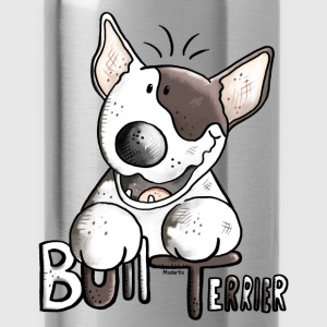 Funny Bull Terrier - Dog - Dogs Shirts - Water Bottle