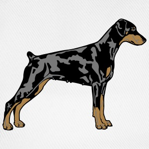 Dobermann Pinscher Dog Camisetas - Gorra béisbol