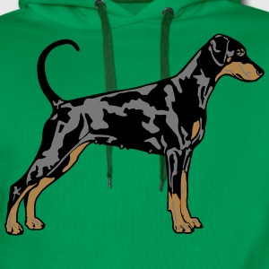Dobermann Pinscher Dog Tee shirts - Sweat-shirt à capuche Premium pour hommes