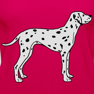Dalmatian Dog T-Shirts - Women's Premium Tank Top