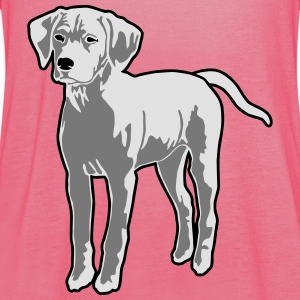 Dog Puppy T-Shirts - Women's Tank Top by Bella